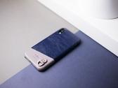 Alto iPhone XR 真皮手機殼背蓋 6.1吋 Anello - 海軍藍 皮革保護套