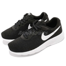 Nike 休閒鞋 Tanjun PS 黑 白 基本款 運動鞋 童鞋 中童鞋【ACS】 818382-011