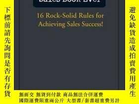 二手書博民逛書店The罕見Best Damn Sales Book Ever: 16 Rock-Solid Rules for A