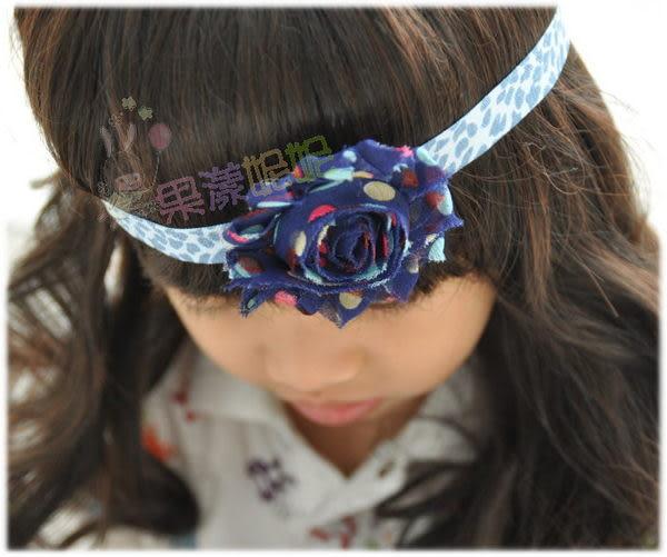 果漾妮妮 美國豹紋彈性帶款寶寶髮帶/兒童髮帶/拍照/寫真/表演/造型/宴客/大人也可-3色