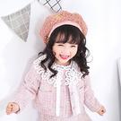 帽子 兒童 毛絨 造型 蓓蕾帽 八角帽