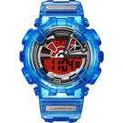 Transformers 變形金剛 聯名限量玩色潮流腕錶(柯博文)LM-TF002.OPS9T.411.9TM