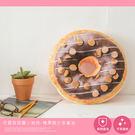 可愛甜甜圈小抱枕-榛果脆片多拿滋