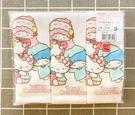 【震撼精品百貨】凱蒂貓_Hello Kitty~三麗鷗 KITTY 台灣製紗布手帕(3入)-獨版#07412