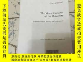 二手書博民逛書店the罕見moral collapse of the unier