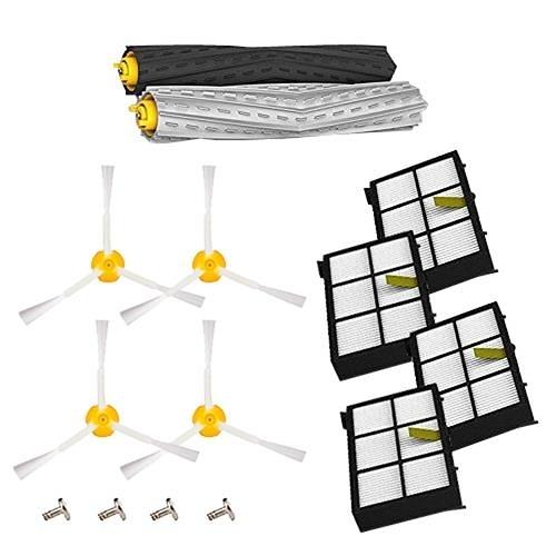 【美國代購】Amyehouse Tangle-Free 提取器套裝和過濾器 適用於iRobot Roomba 800 900系列更換零件