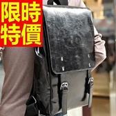 後背包-閃亮韓風高雅皮革男女雙肩包-59ab19【巴黎精品】
