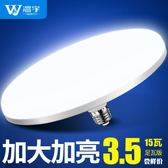 LED燈泡超亮節能白光飛碟燈E27螺口吸頂燈工廠車間照明家用電 免運直出 年貨八折優惠