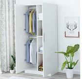 衣櫃子家用簡約現代經濟型單人大小租房宿舍簡易臥室組 【限時特惠】 LX