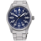 ORIENT東方錶時尚飛行機械錶 RA-AC0H01L