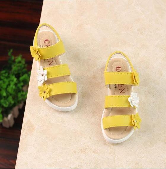 4到12歲11女孩子10夏季9小孩8女童鞋7軟底6中筒兒童5羅馬公主涼鞋【居享優品】
