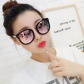 韓國2018新款偏光太陽眼鏡女潮個性復古圓臉近視眼鏡明星同款墨鏡     俏女孩