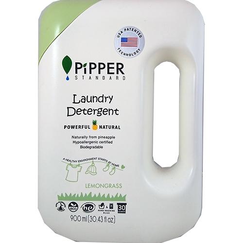 PiPPER STANDARD 低敏洗衣精 900ml-檸檬草【合康連鎖藥局】