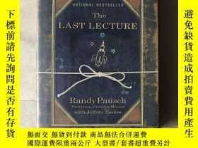 二手書博民逛書店The罕見Last Lecture(英文原版)Y171402 Randy Pausch Hyperion 出