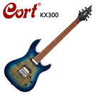 ★CORT★KX300-OPCB 嚴選電吉他-現代特色漸層藍鈷色~