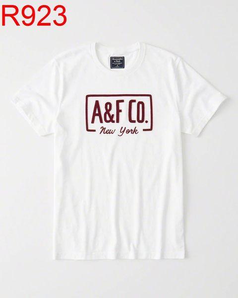 AF Abercrombie & Fitch A&F A & F 男 當季最新現貨 T-SHIRT AF R923