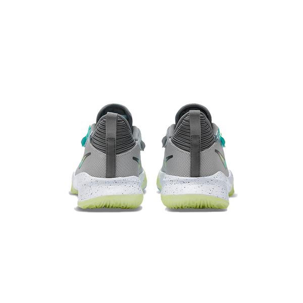 Nike ZOOM FLIGHT 2 (GS) 大童 灰黃 氣墊 避震 包覆 支撐 籃球鞋 DB6708-001