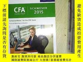 二手書博民逛書店CFA罕見EXAM PREP SCHWSER 2015 Leve