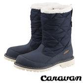 【日本 Caravan】SHC_7W 中性長筒防水保暖雪鞋『海軍藍』0023027 雪靴.輕量.雪鞋.雪靴 (內厚鋪毛)