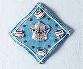 【雙11折300】掛鐘田園創意客廳時鐘咖啡臥室靜音藝術鐘表