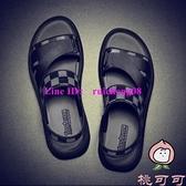 涼拖鞋男防滑沙灘鞋休閒夏季百搭外穿涼鞋【桃可可服飾】