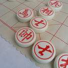 高檔6.0亞克力中國象棋 精品木盒包裝 ...
