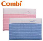Combi 康貝 輕柔感-和風紗透氣塑型枕-藍/粉