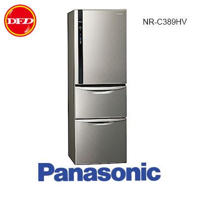 福利品 PANASONIC 國際牌 NR-C389HV 三門 冰箱 銀河灰 385L ECONAVI系列 公司貨 北縣市含裝運