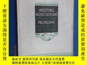 二手書博民逛書店外文書罕見MEETING AGRICULTURE S PROBL