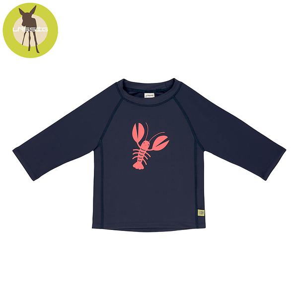 德國LASSIG-嬰幼兒抗UV長袖泳裝上衣-小龍蝦