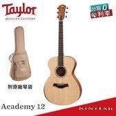 【金聲樂器】Taylor Academy 12 學院系列 雲杉面單 超值入門款 (A12)