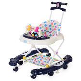 聖誕交換禮物 學步車 嬰幼兒童學步車6/7-18個月正韓寶寶助步車防側翻多功能學行車xw