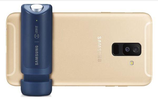 Samsung 美拍握把 街拍必備 自拍神器 藍芽連接  最後現貨→藍+黑(兩個一組出貨) ☆101購物網★