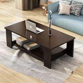 茶几簡約現代客廳邊几家具儲物簡易茶几雙層木質小茶几小戶型免運茶几桌子wy