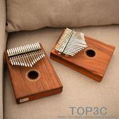 17音單板拇指琴相思木卡林巴琴Kalimba初學手指撥琴 入門便攜樂器「Top3c」