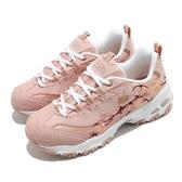 Skechers 休閒鞋 D Lites-Soft Blossom 粉 白 女鞋 斯小花 老爹鞋 運動鞋 【ACS】 149239ROS