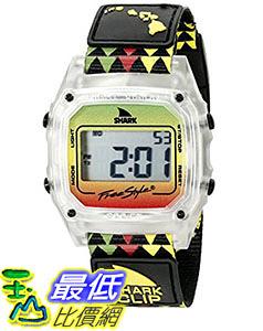[106美國直購] Freestyle 手錶 Unisex 10022119 B00TYE8UTG Shark Clip Hawaii Digital Display Japanese Quartz Black Watch