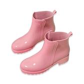 雨鞋女士防滑低筒雨靴短筒中筒韓國可愛時尚款外穿夏季女式防水鞋 喵小姐
