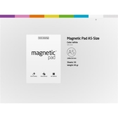 磁力便利貼 Magnetic PAD A5白【Tesla Amazing】
