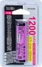 歌林1.2A 18650平頭鋰電池 KB-DLB06