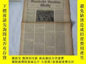 二手書博民逛書店外文原版報紙罕見THE MANCHESTER GUARDIAN WEEKLY 1948年6月10日 第24期 共1