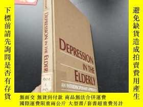二手書博民逛書店DEPRESSION罕見IN THE ELDERLYY25225