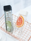 方形塑料水杯子女學生韓國清新可愛網紅ins水瓶簡約創意個性潮流