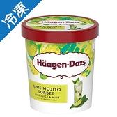 哈根達斯萊姆莫希朵調酒雪酪392G【愛買冷凍】