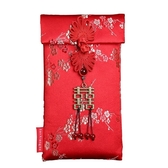 婚慶高檔布藝中國風喜字萬元中式紅包封