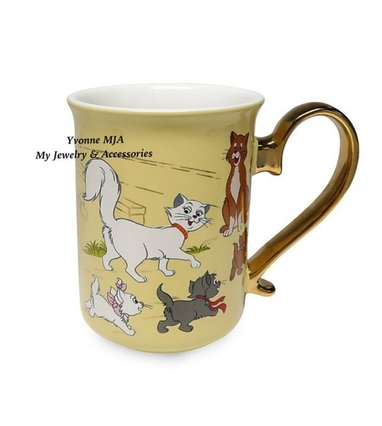 *Yvonne MJA* 美國迪士尼 預購區 瑪麗貓 50週年 紀念版 馬克杯