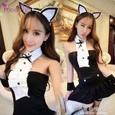 可愛蘿莉貓女性感貓女郎角色扮演情趣制服誘惑短裙套裝內衣 完美情人精品館 YXS