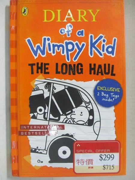 【書寶二手書T1/原文小說_CB8】Diary of a Wimpy Kid: The Long Haul_Jeff Kinney