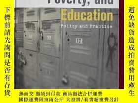 二手書博民逛書店Social罕見Class, Poverty, and Educ