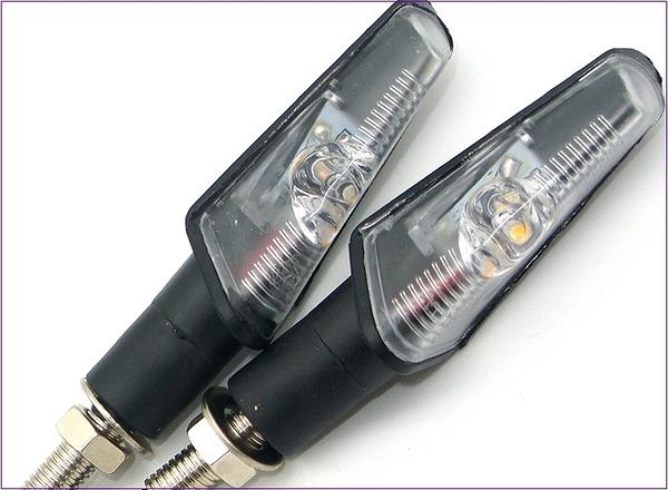 305A037  機車方向燈 單珠內置款 黃光2入  後方向燈組 LED 重車 擋車 機車 電動車 野狼
